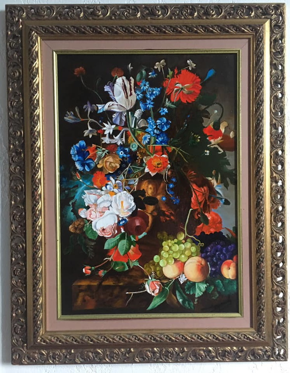Bouquet d'ap. Jan Van Huysum 10 P - 55 x 38